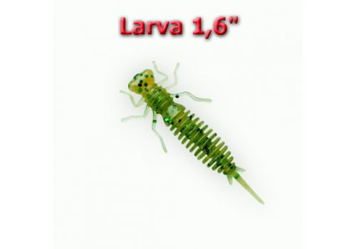 "Силиконовая приманка Larva 1,6"" Fanatik-club Беларусь 15123"